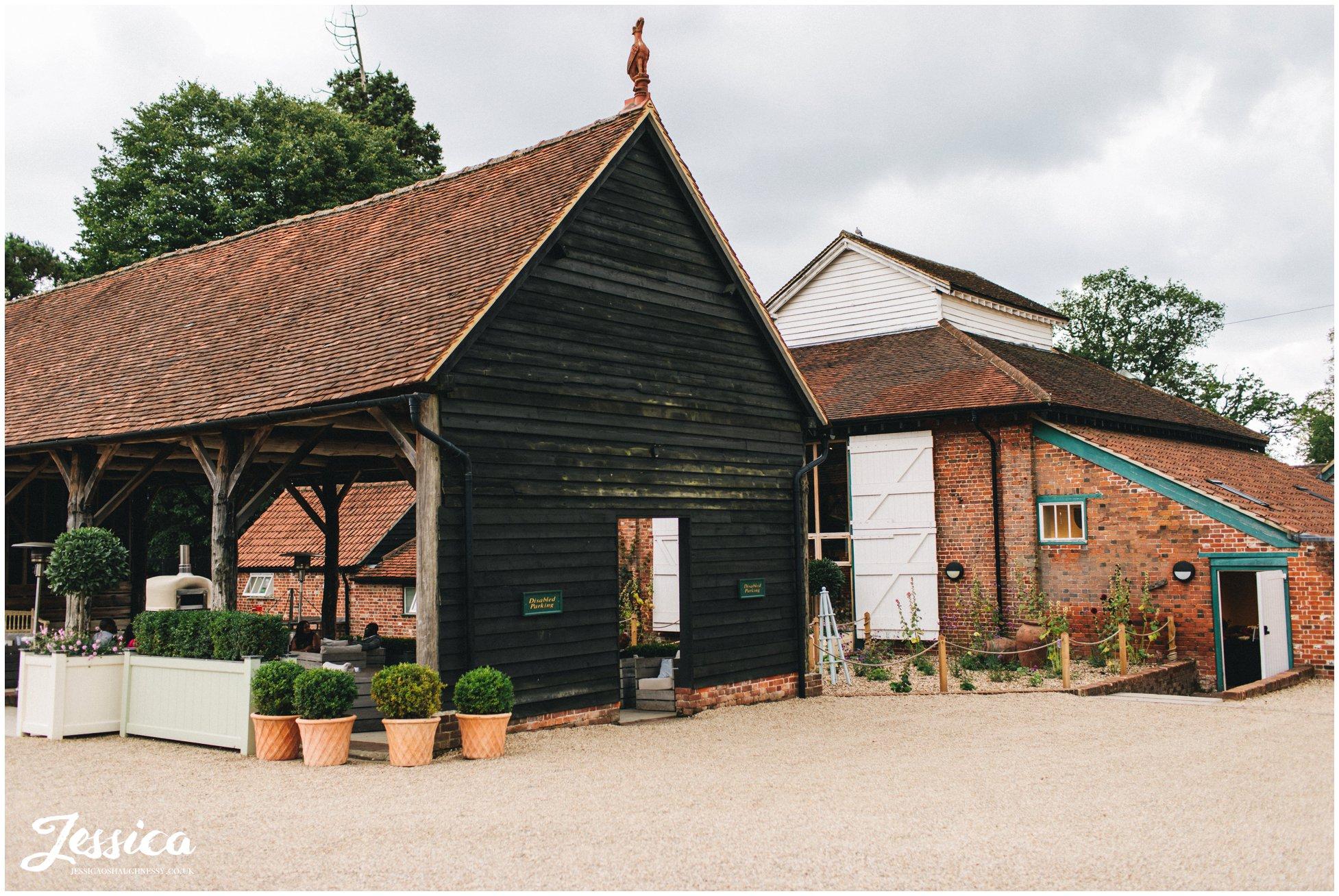 gaynes park in epping, a london barn wedding venue