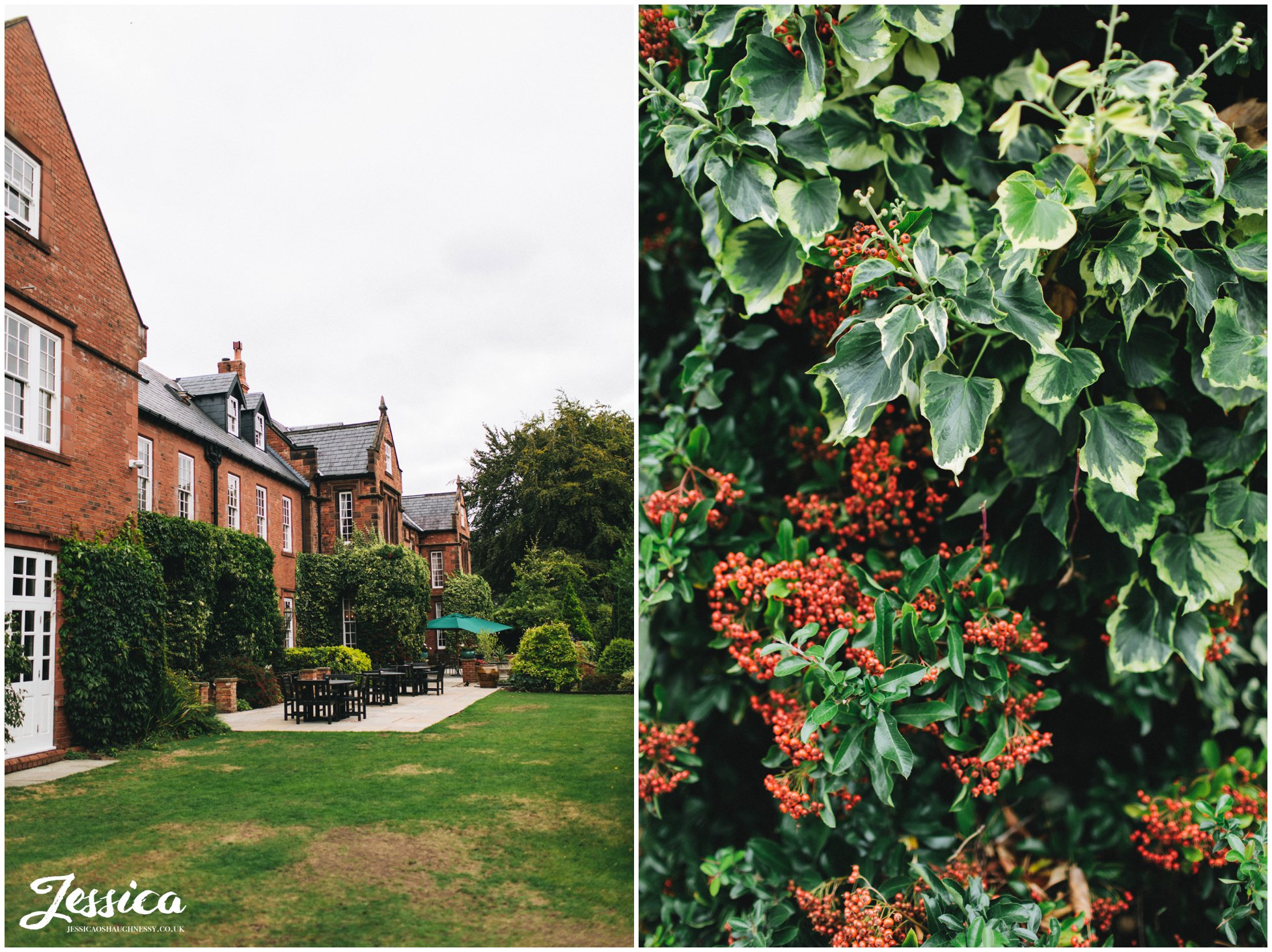 Nunsmere hall wedding in chester, cheshire