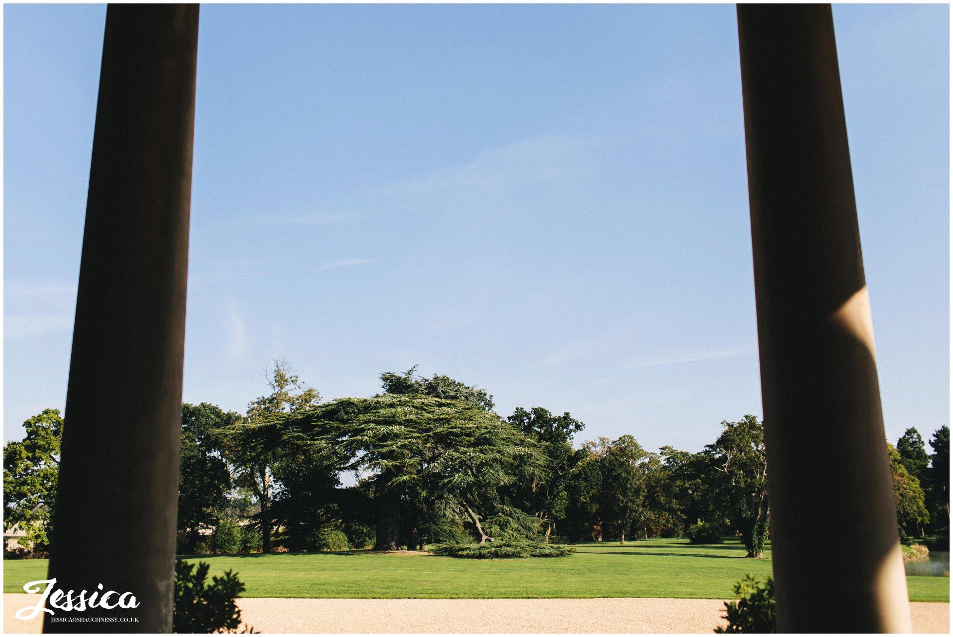 blue skies at stubton hall