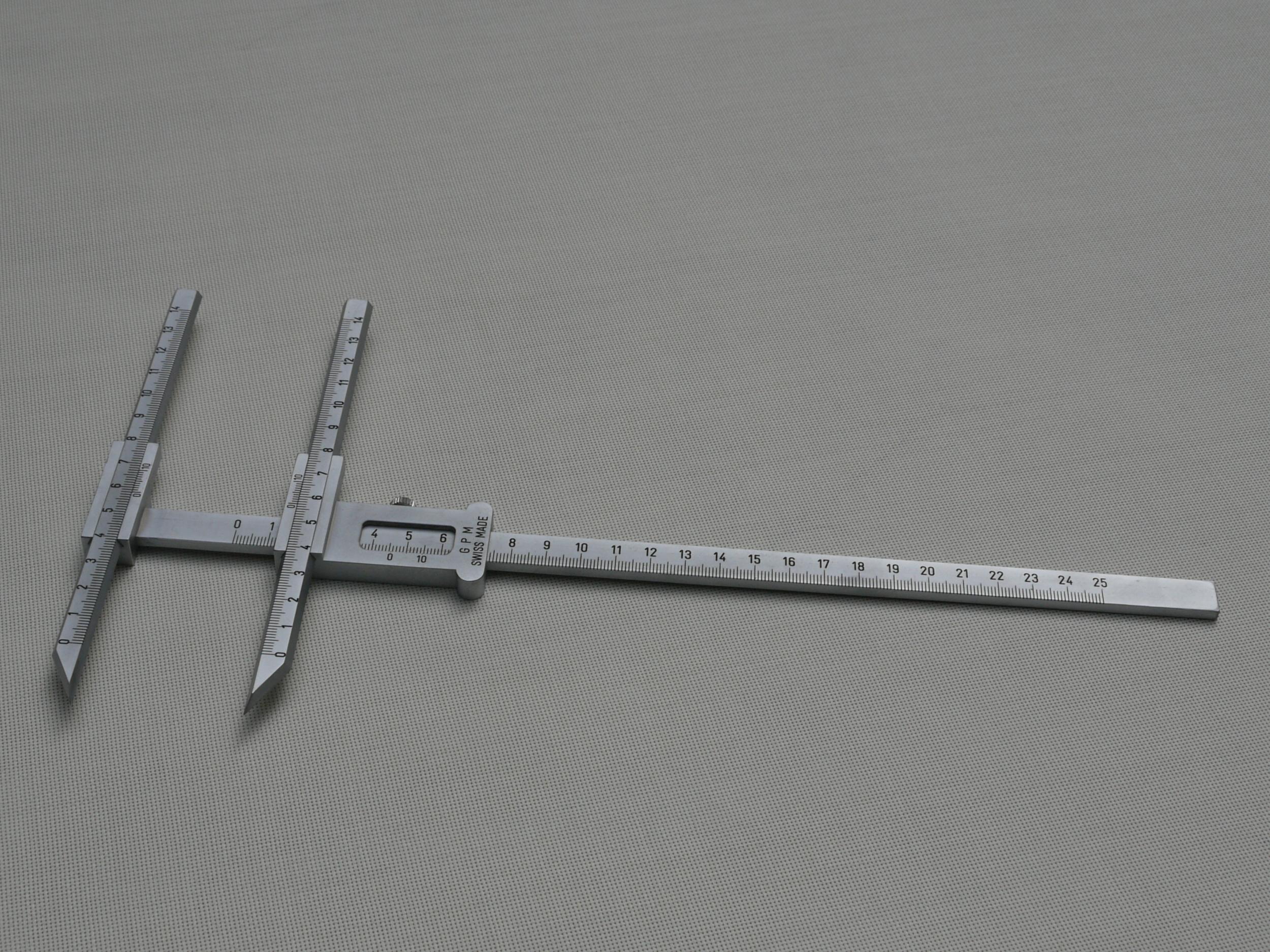 GPM Sliding Caliper, Poech type Model 114