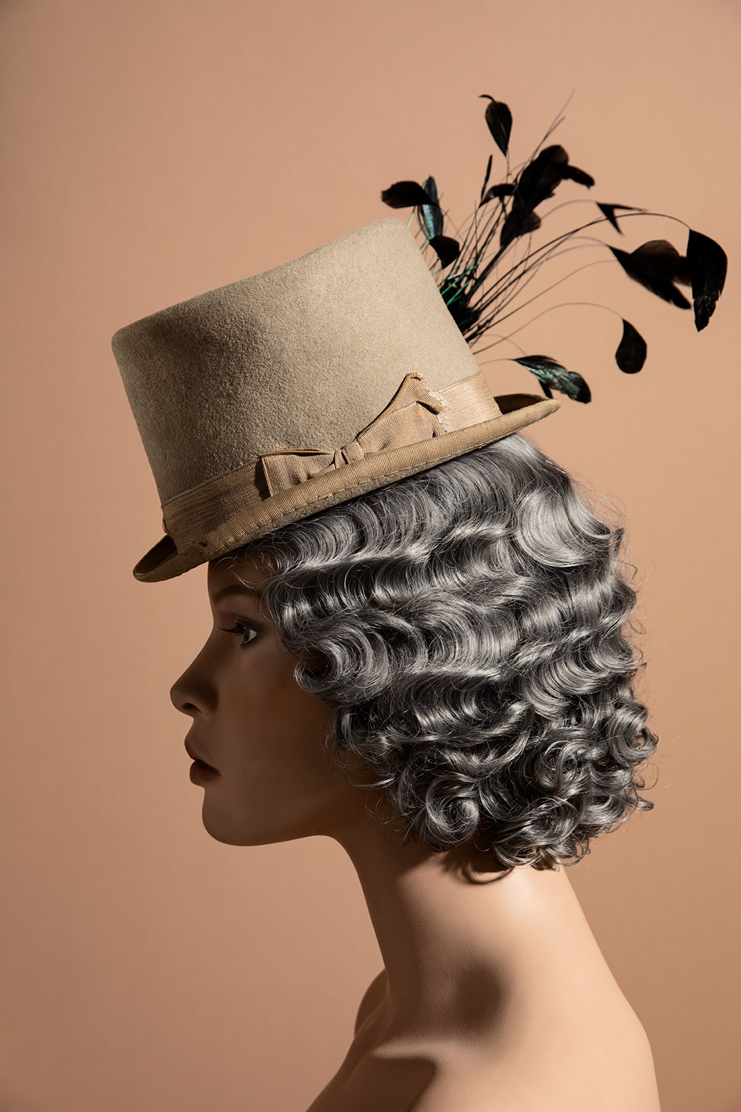 Victorian top hat for women - 1880s-1890s  Found in my Great-Grandmother's home