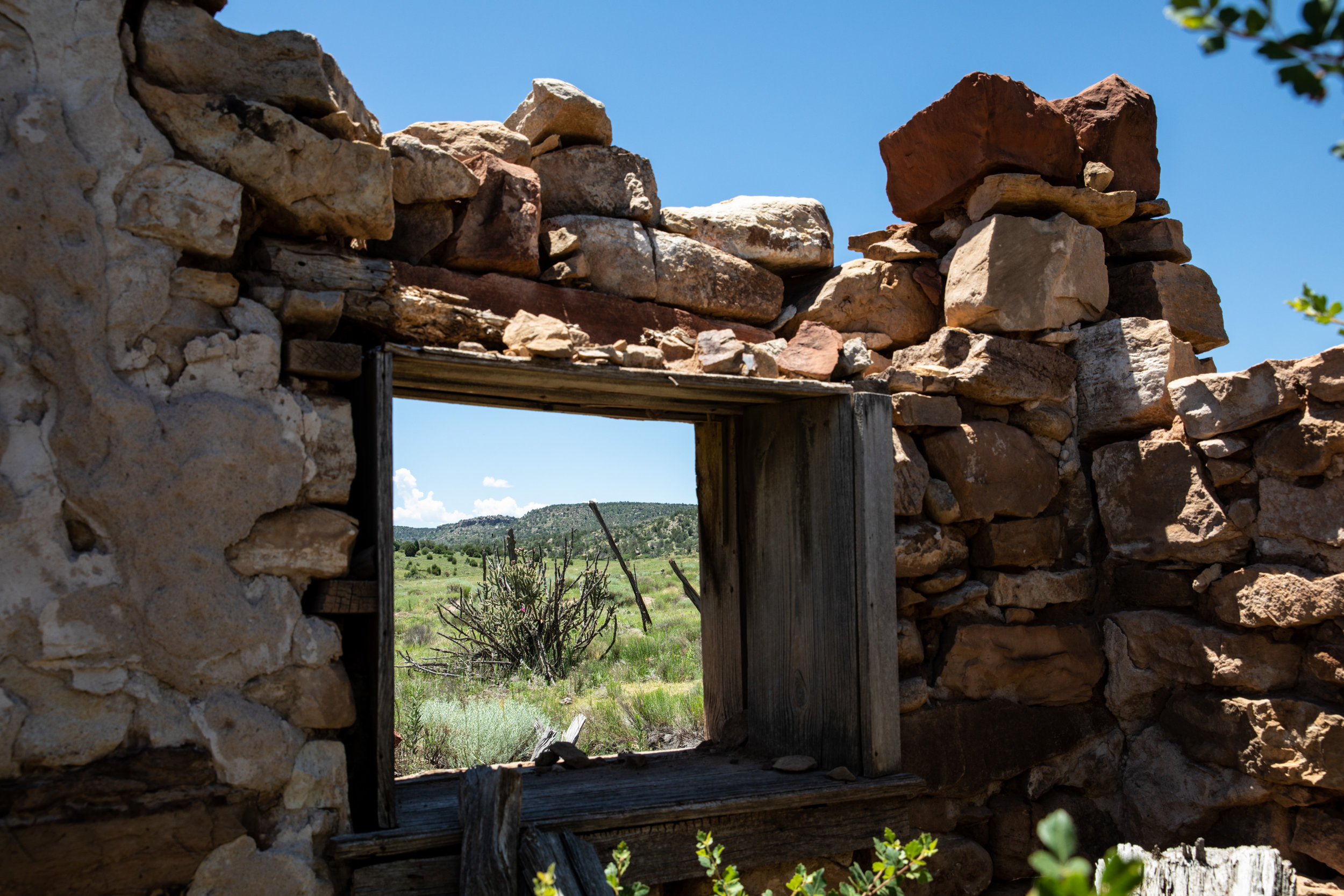 Old homestead in Cobert Canyon