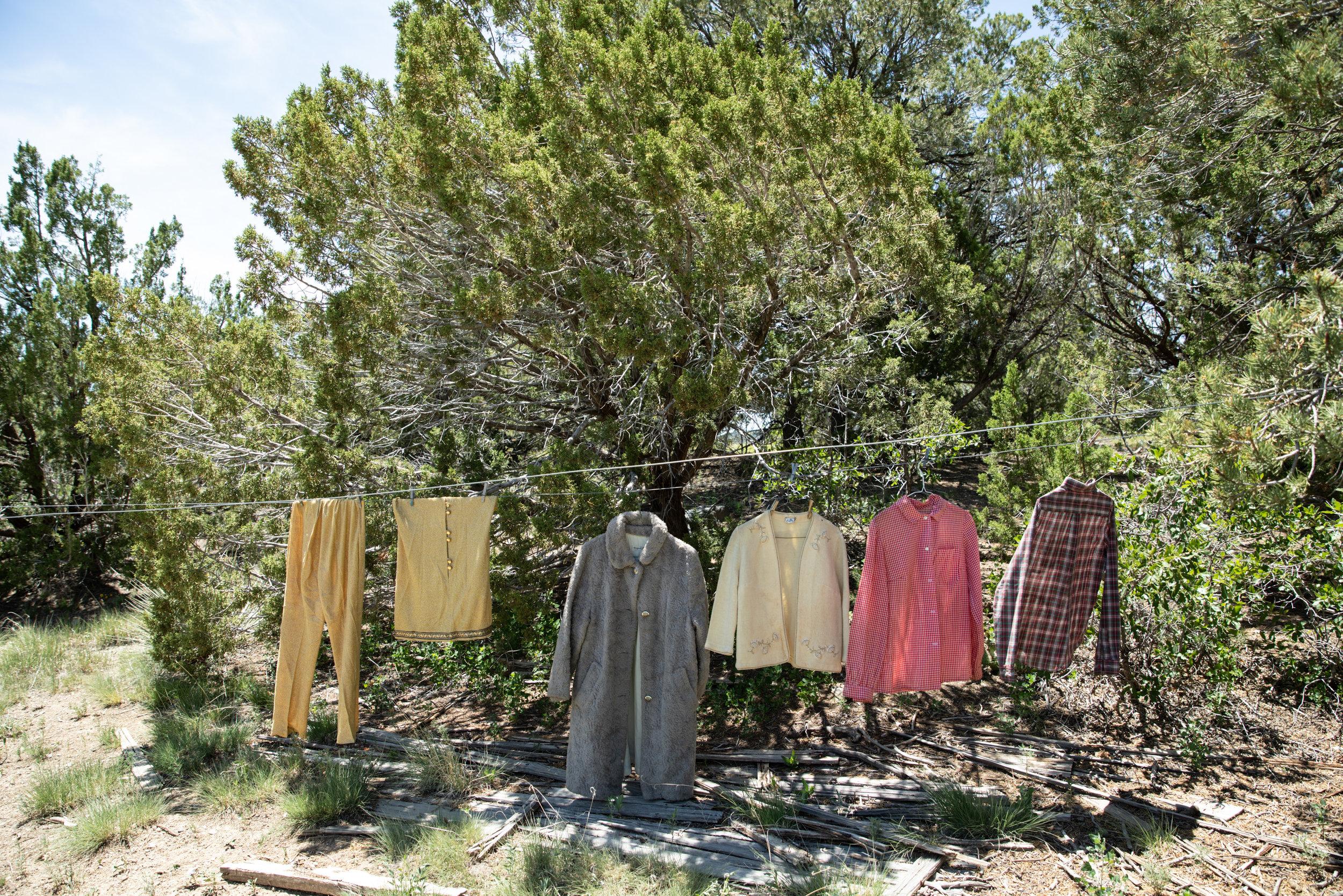Great-Grandma's  clothes