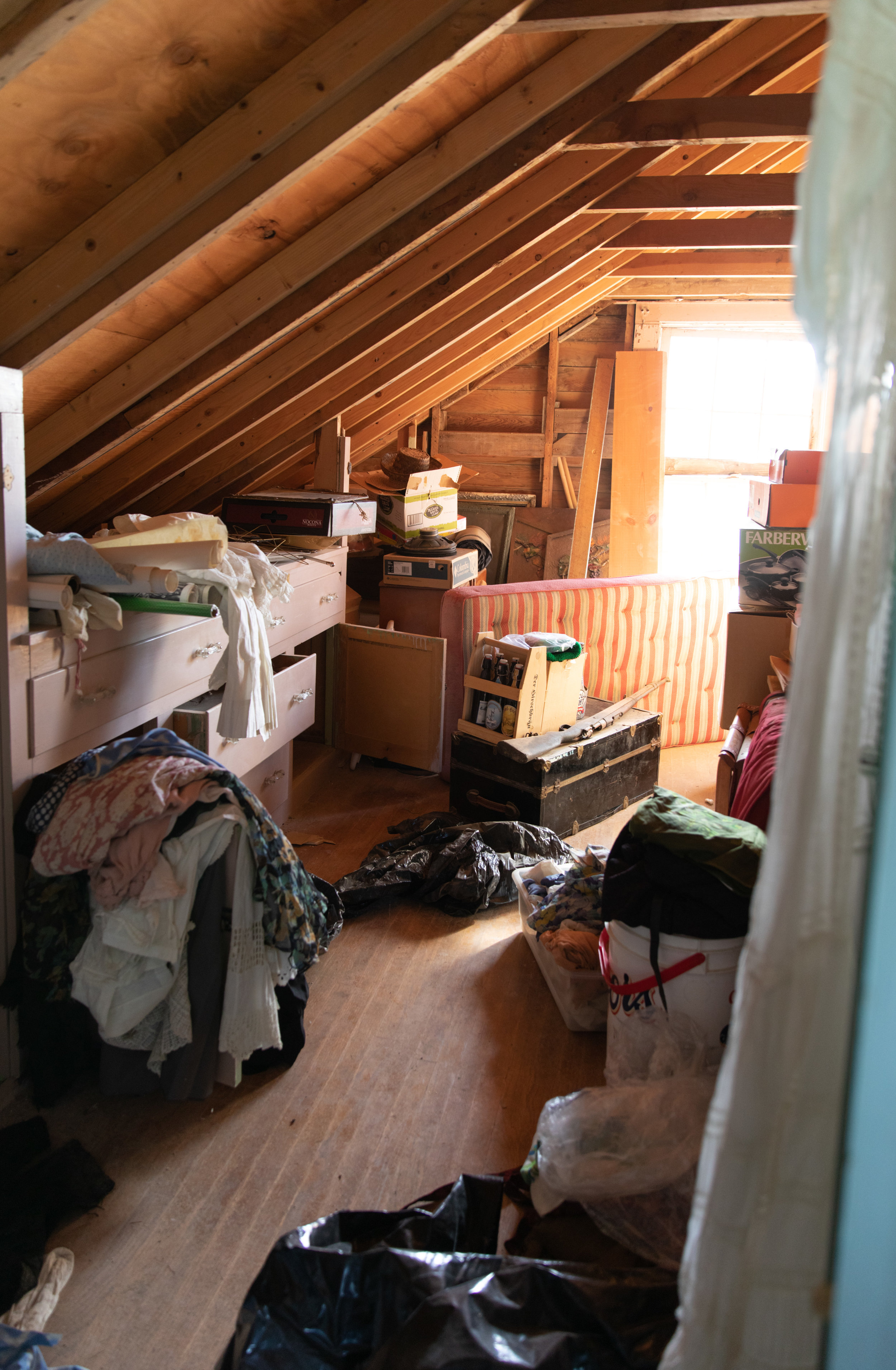 The second bedroom in the ranch headquarters where many of her items were found.