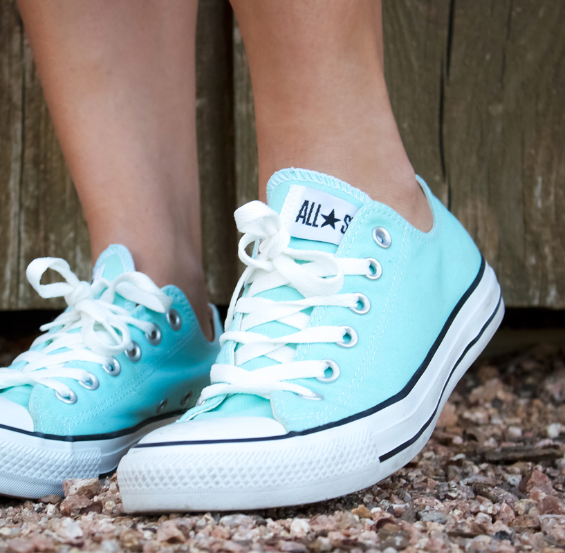 Minty Fresh. So in love with these shoes.