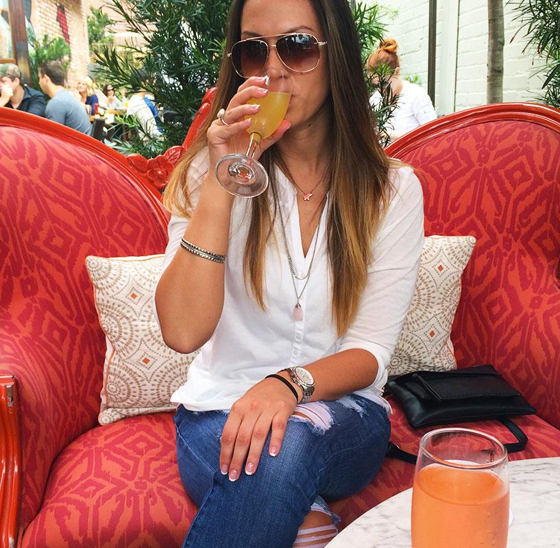 No I don't love mimosas...like ever.
