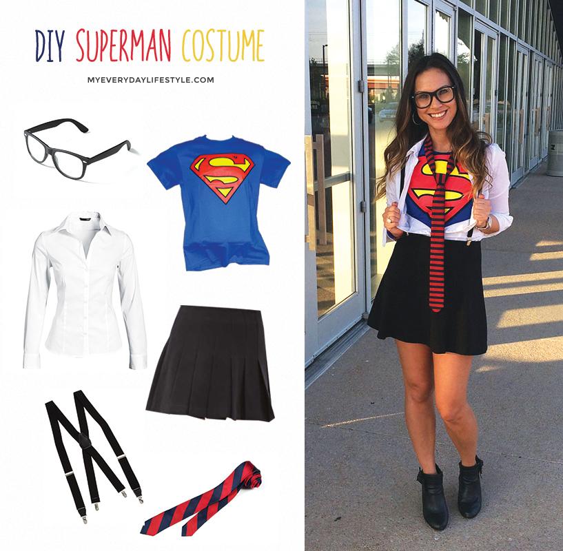 Diy Superman Costume Mel Dallas Lifestyle Geek Blogger