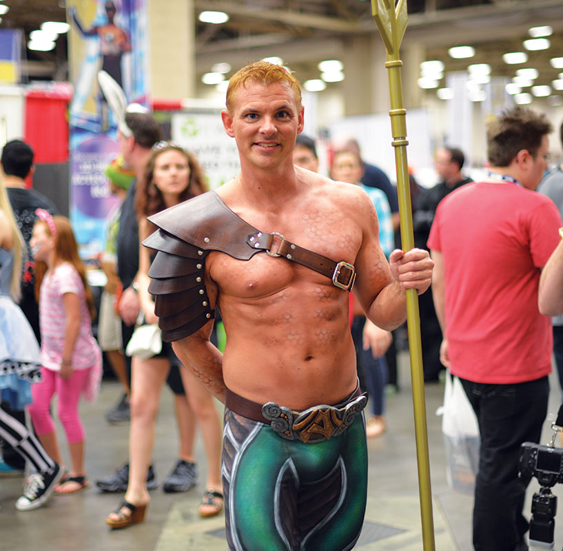 This guy was almost dead on Aquaman. Even got the scales right.