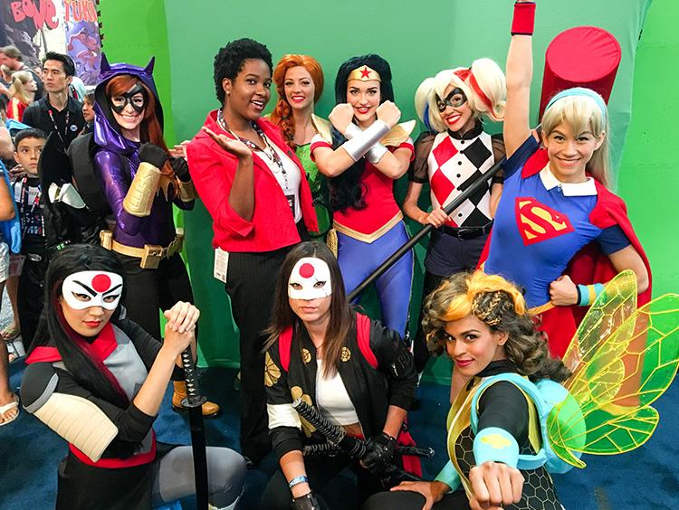 Amanda Waller and Katana meets the DC Super Hero Girls