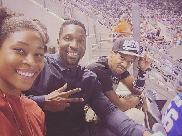 Good times with fam. Preseason movement. @nygiants game, still getting adjusted to life without Coughlin though... #nygiants