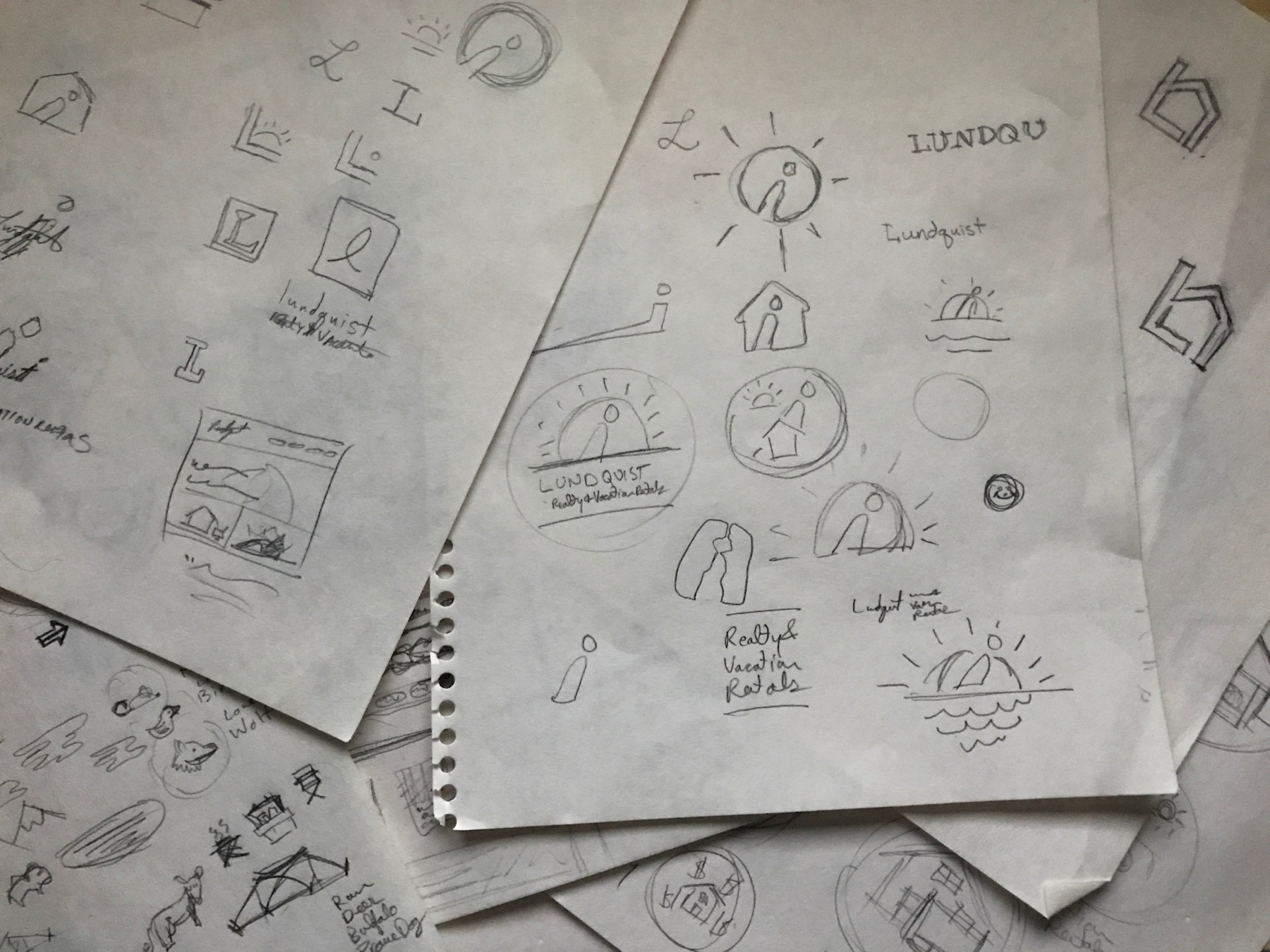 2. Concepting - We take your strategy and begin the process of developing visualization of the message and personality you aspire to communicate to your target market.