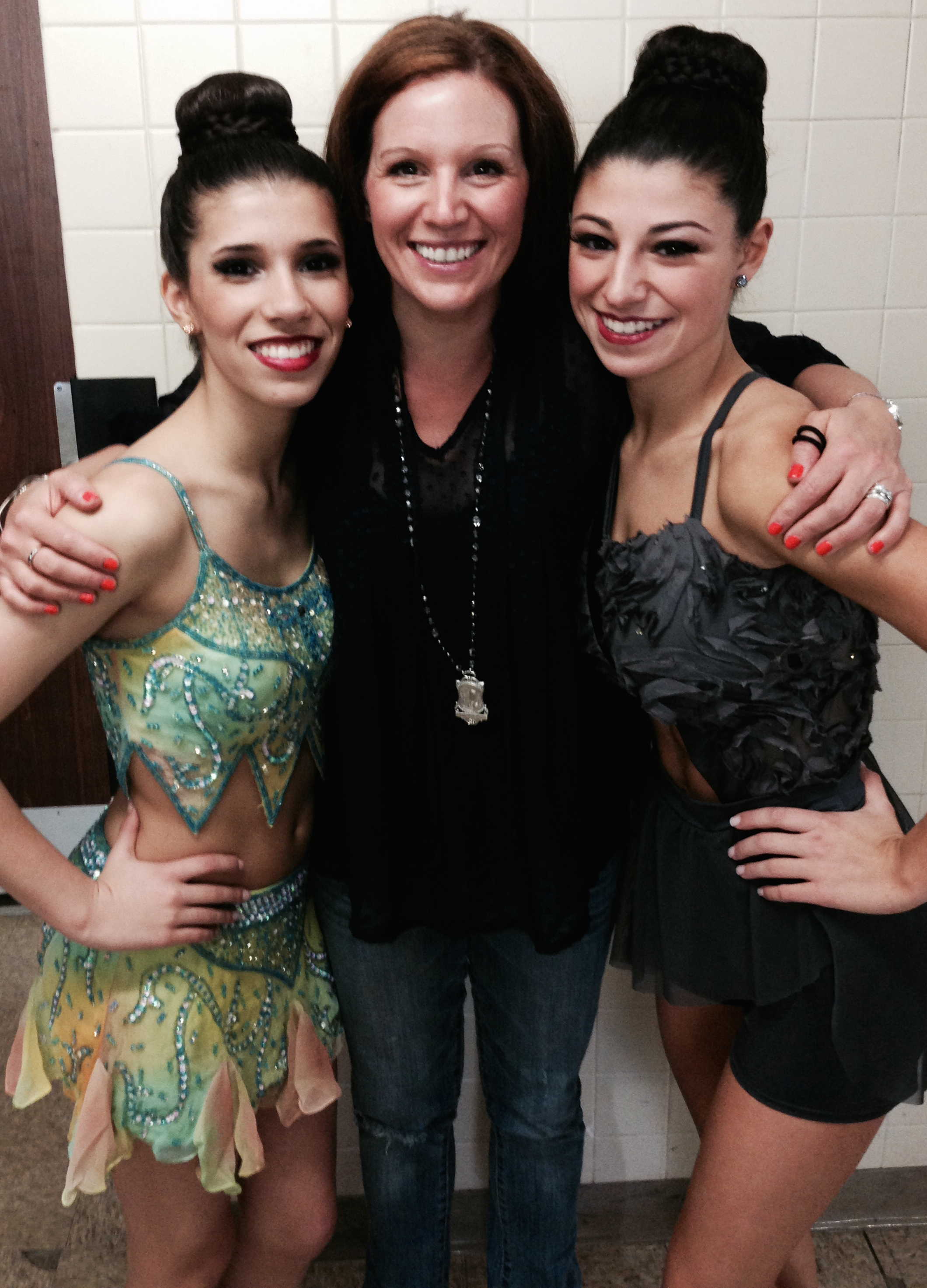 Atticus Company Leaders, Marissa and Abbey with Samantha Zaleski, Director