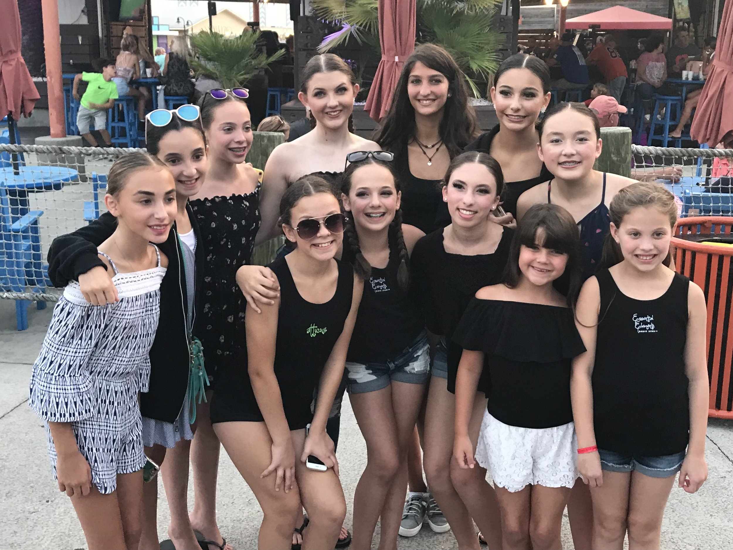Myrtle Beach, South Carolina. July 2018. Atticus Dance Company, National Award winners, Kids Artistic Review. -