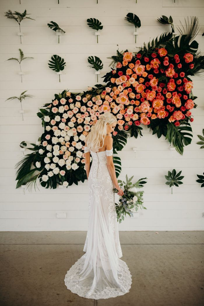 photo by  Jacy Hermes Photography , floral design by  Merveille Floral & Design