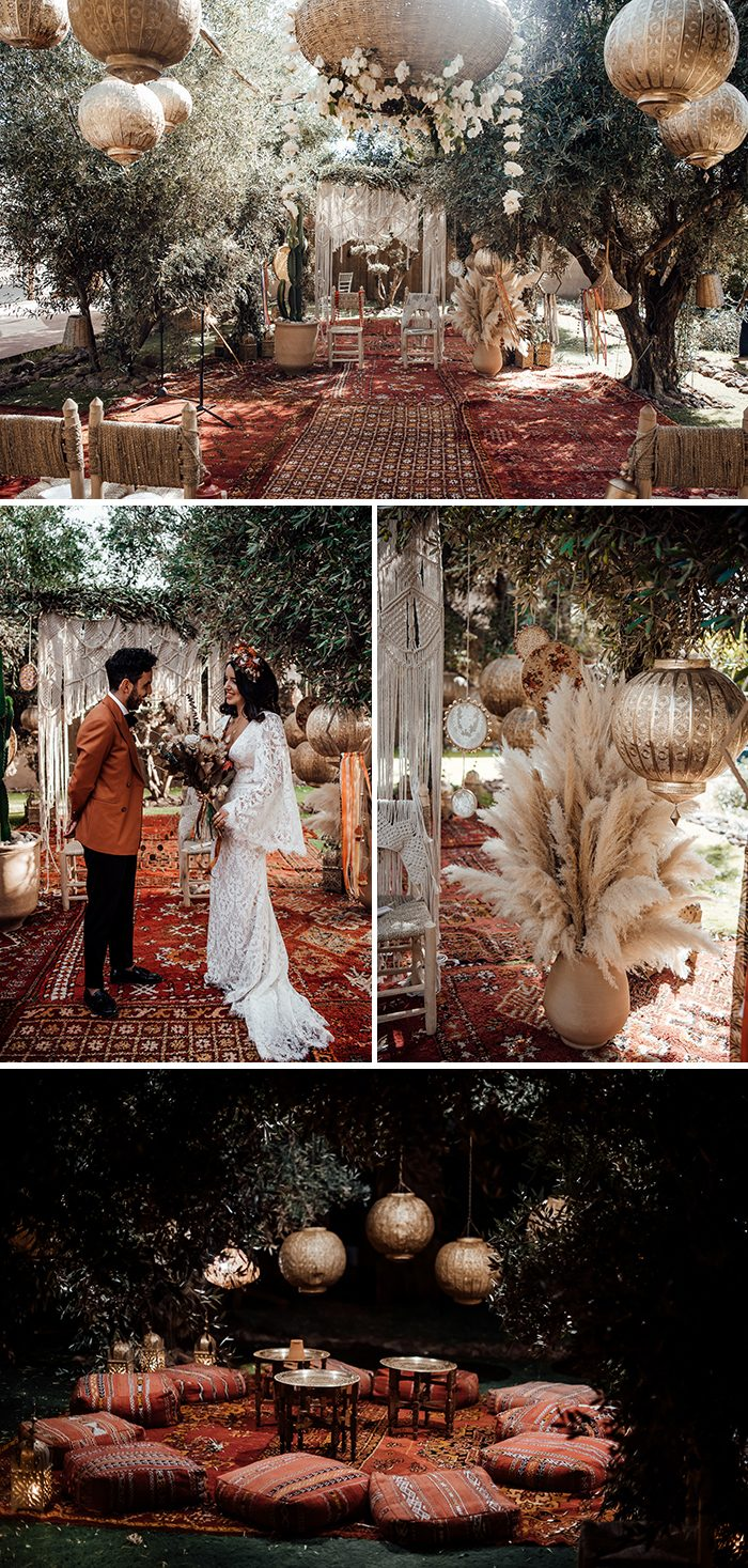 photos by  Tali Photography , event planning by  Villa Taj Omayma , floral design by  Le Kiosque á Fleurs