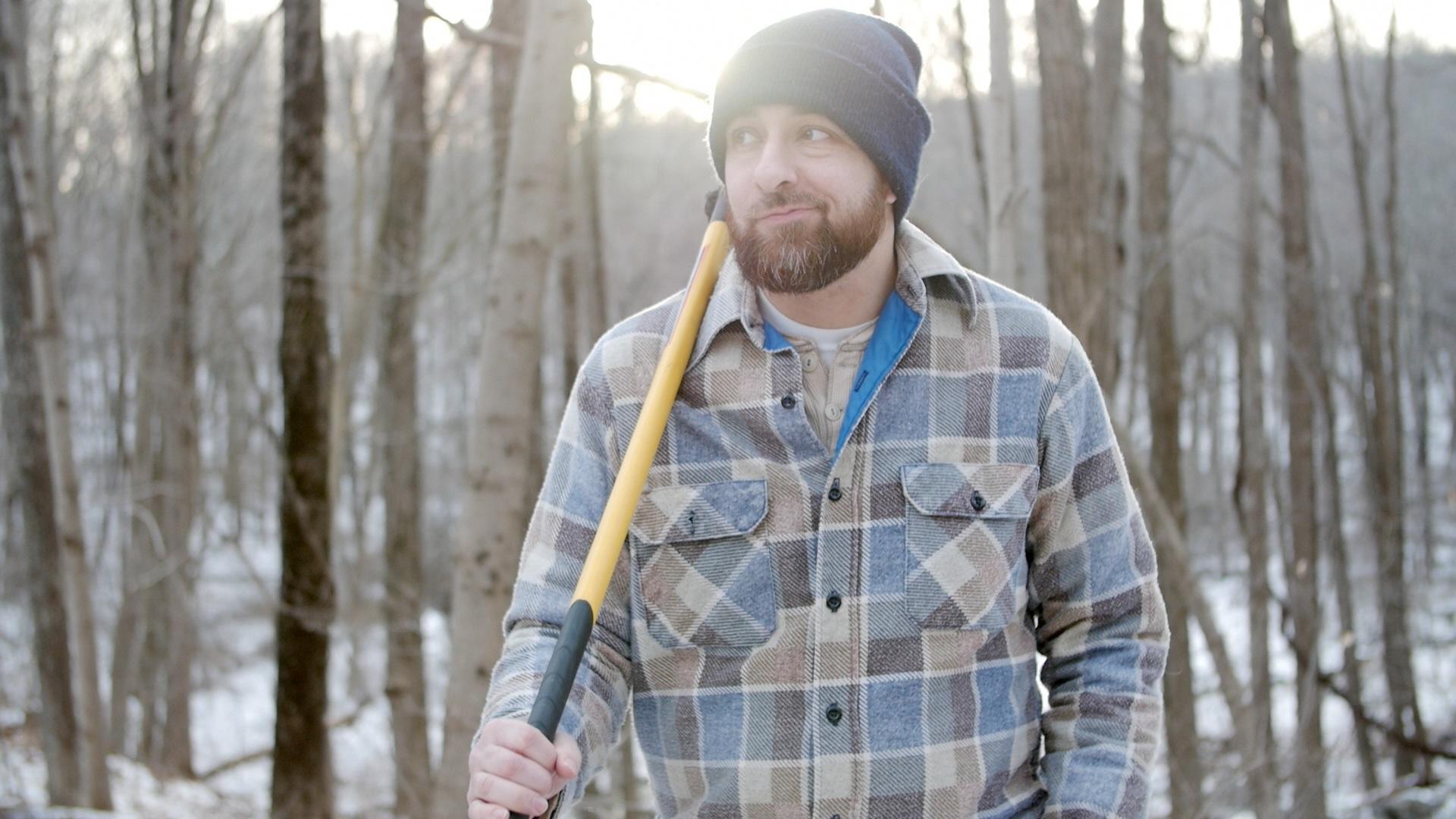 That is one sweet winter beard.