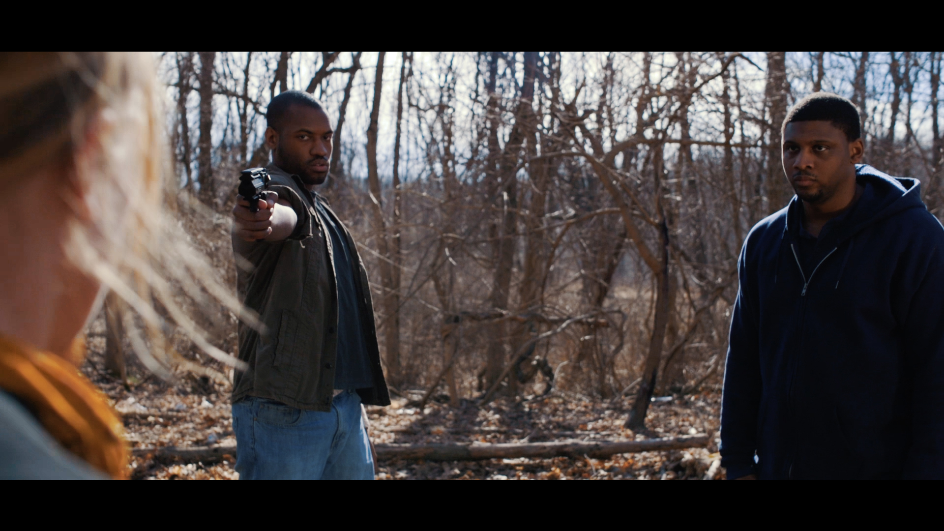 Another shot with a gun in it. This one is from a test shoot for a webseries called Reactiavtion.