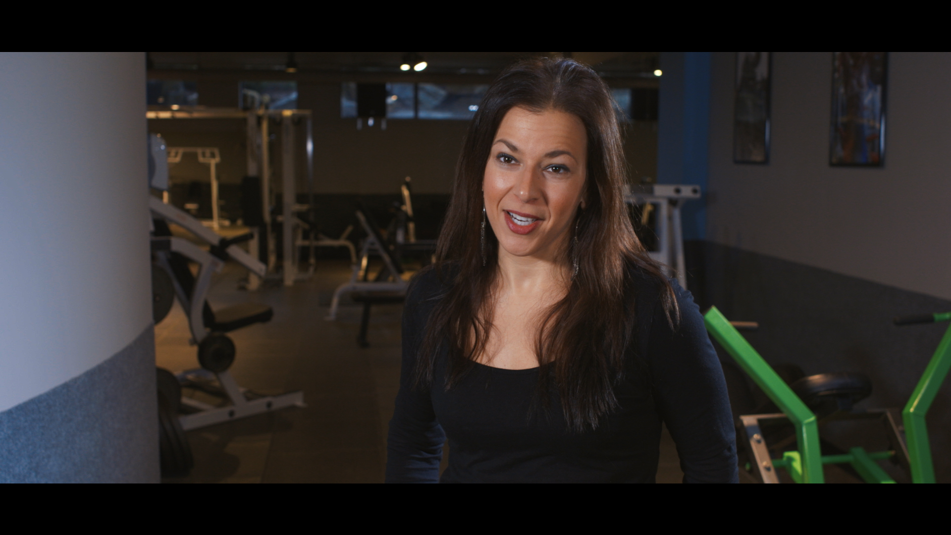 Corporate style interview at Prana Fitness
