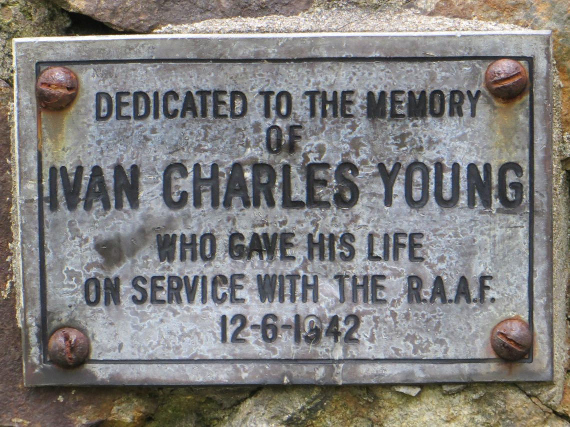 Lectern dedication to Ivan Young