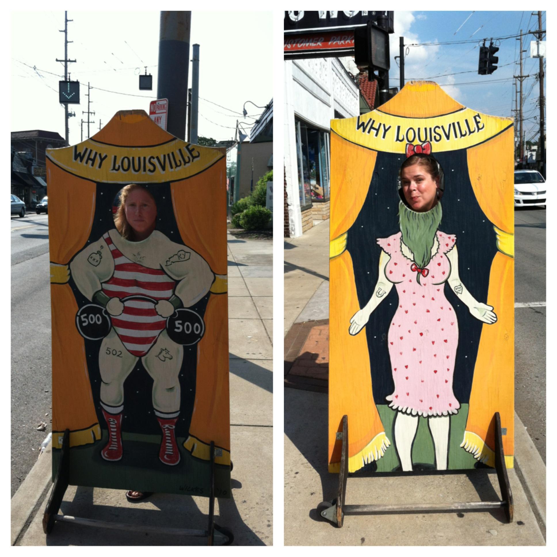 We're keeping Louisville weird.
