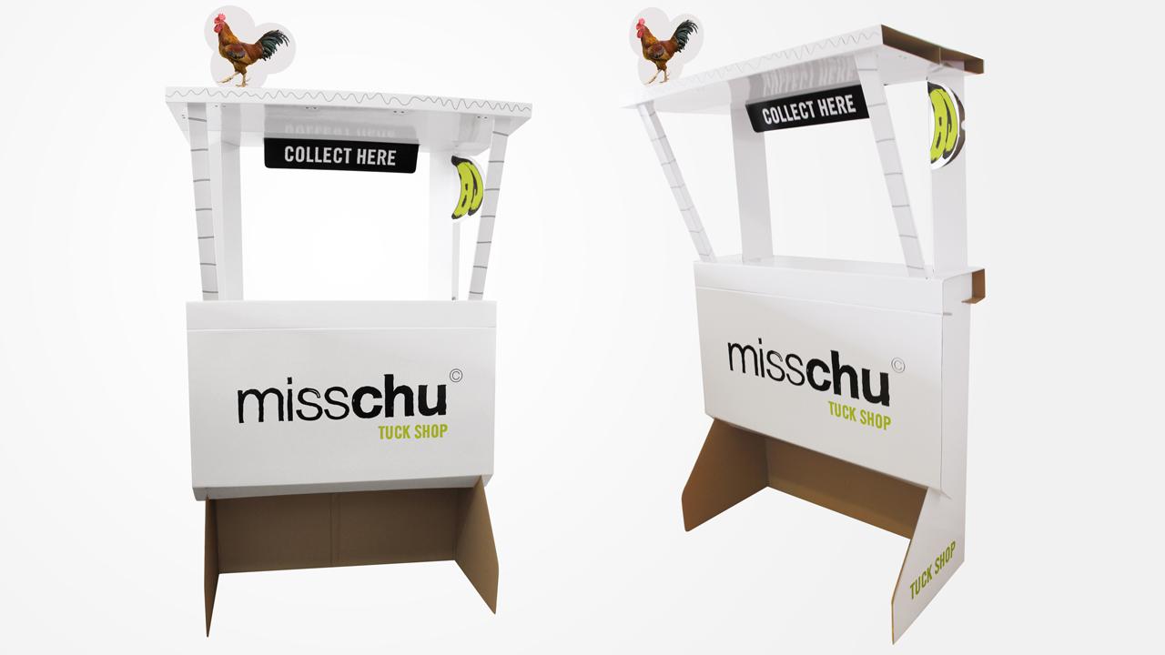 MISSCHU | CARDBOARD TUCKSHOP Industrial design development, Production management & sourcing  www.misschu.com.au
