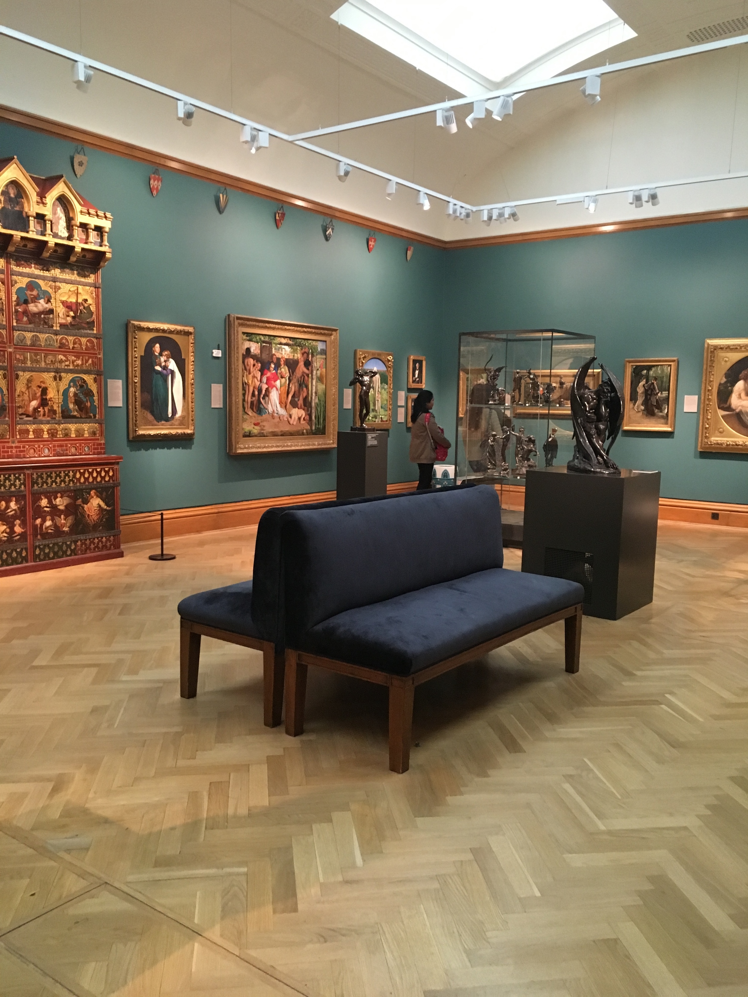 It was a great privilege to be asked to do some work for Ashmolean in Oxford recently. I worked on a number of pieces that can be found in various galleries around the museum, some of which date back to the 1860s.