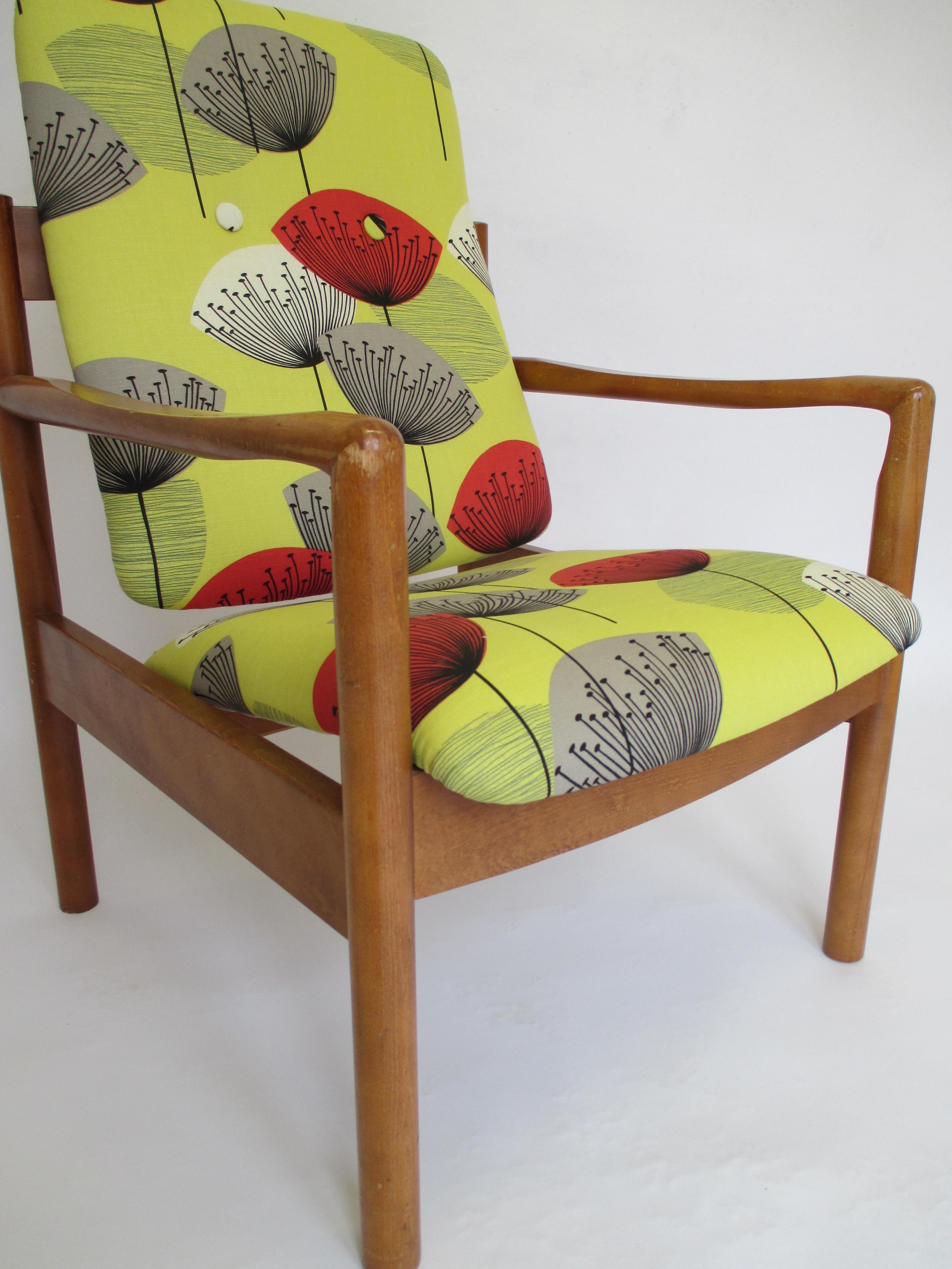 A classic textile design by Sanderson