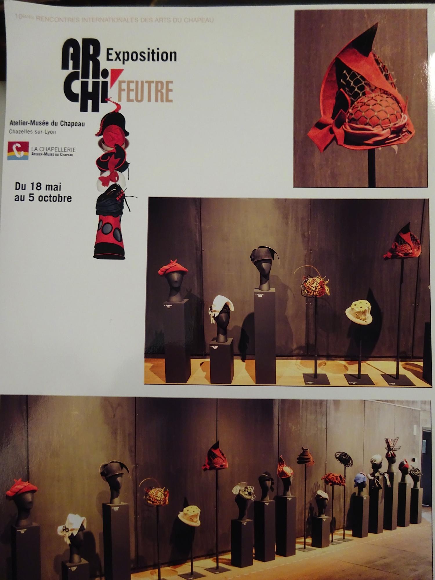 Atelier-Musée du Chapeau - 2014 Exposition