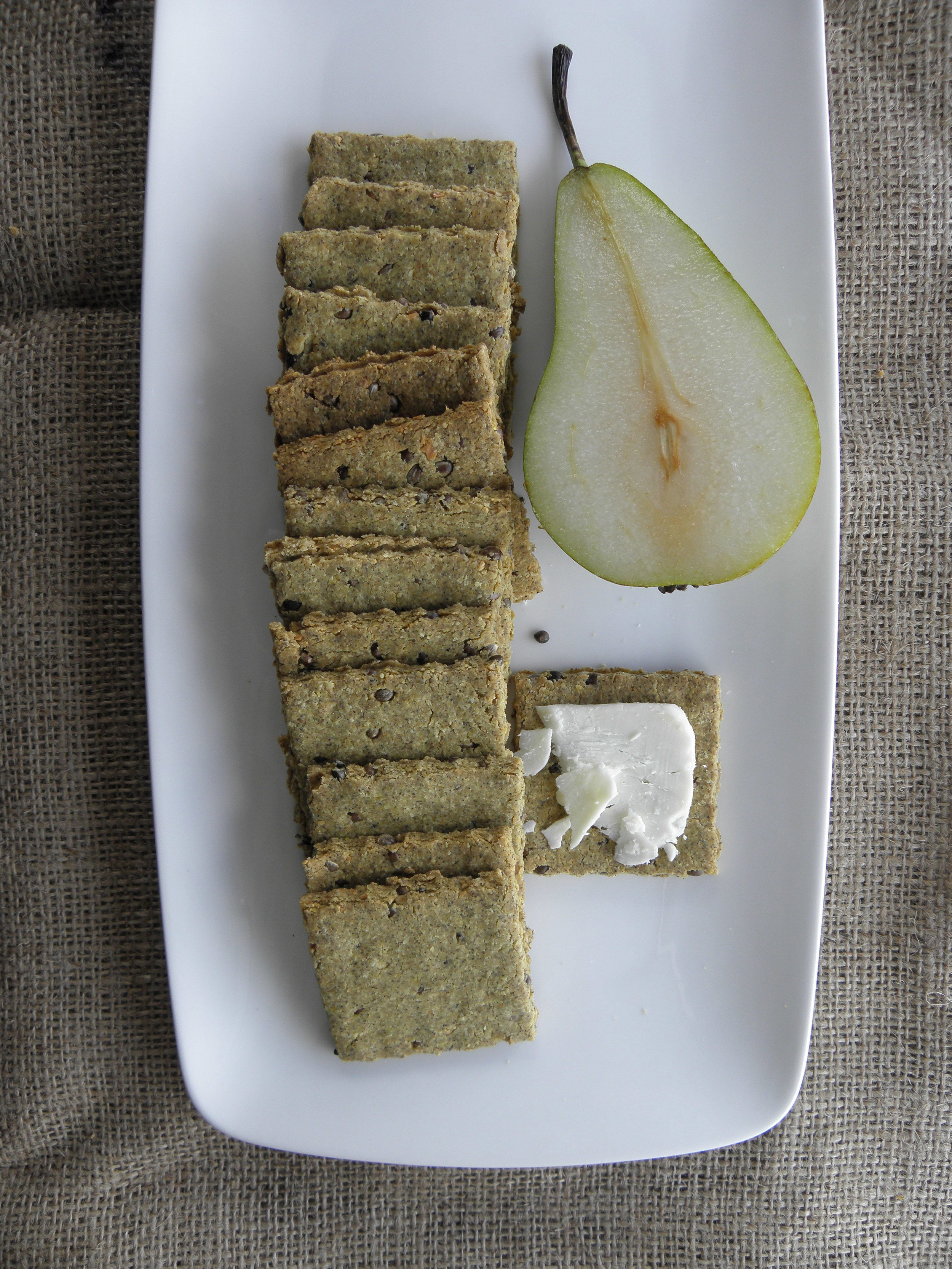 Yorkshire Fettle And Hemp Seed Crackers Howard Middleton