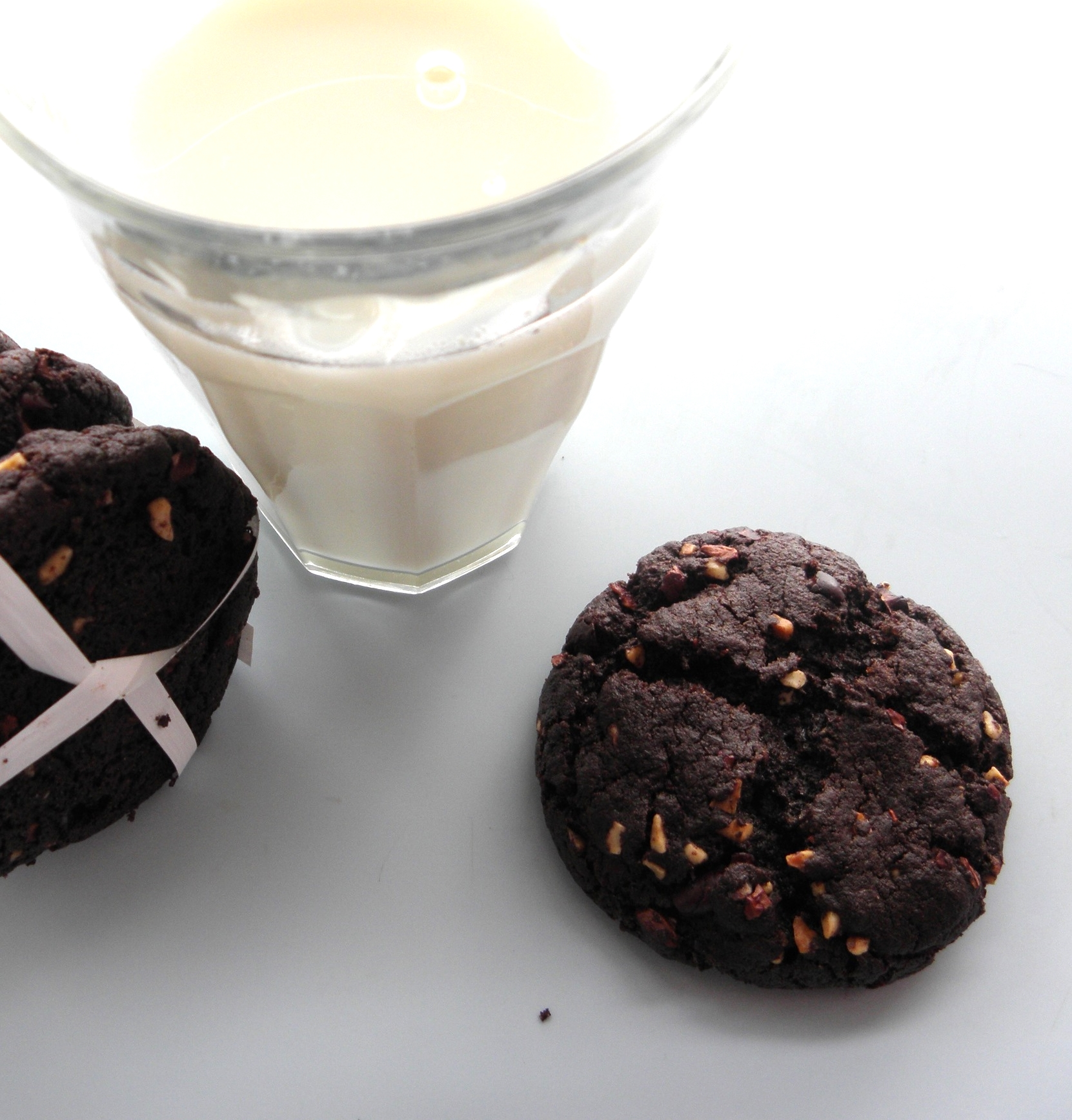Chocolate chip corn cookies