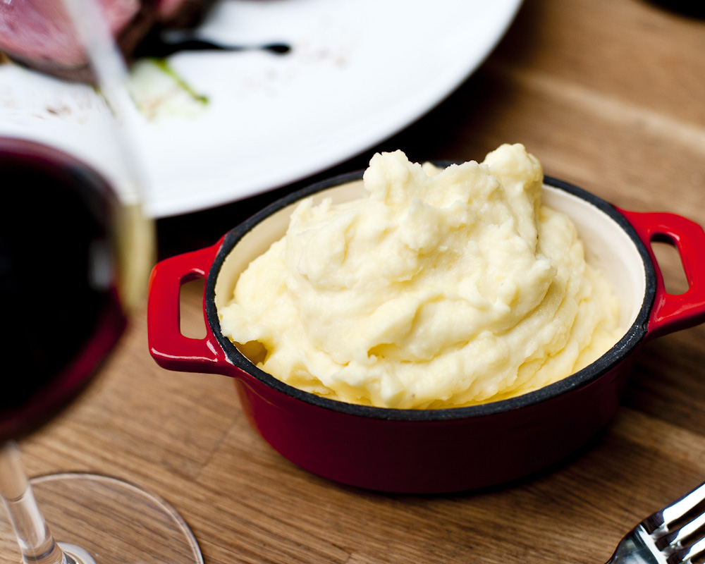 goat cheese whipped potatoes