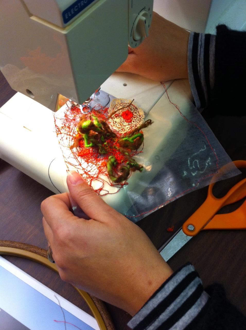 Workshop student experimentation