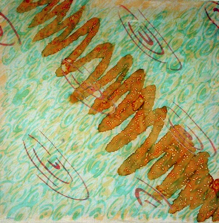 Student Work- Silk Painting