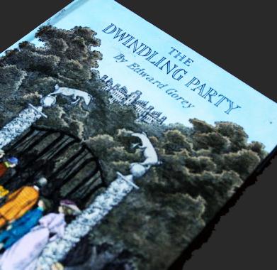 The Dwindling Party by Edward Gorey 1982