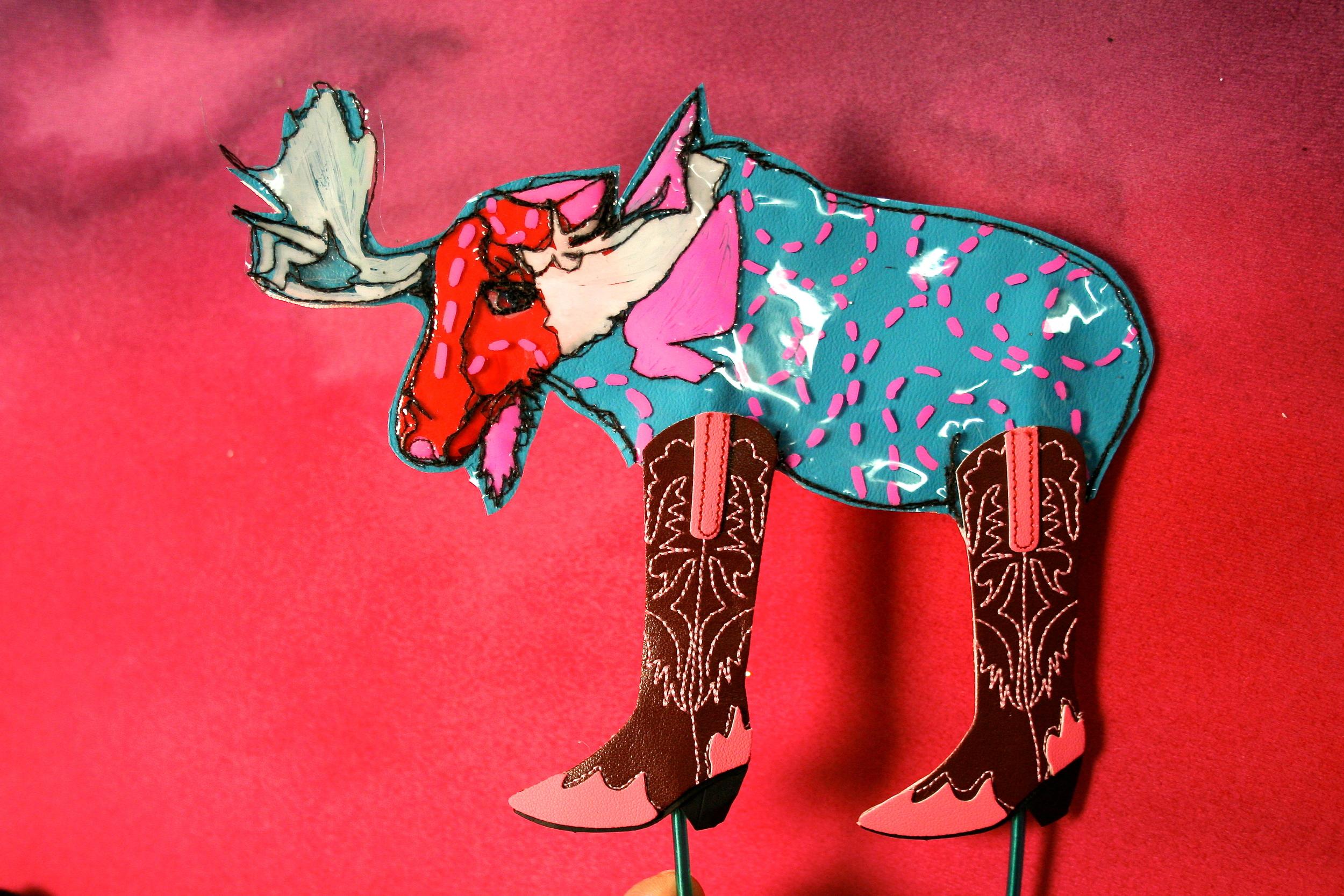 Madoc the Morose Moose- named after my grandson