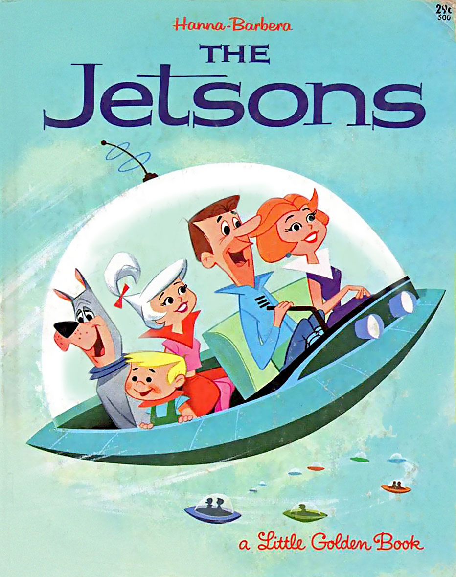 """Remember their """"magically appearing dinners""""? The first concept of a microwave, and soon you will eat a 3D printed meal, in Jetson style! Poof! Voila!"""
