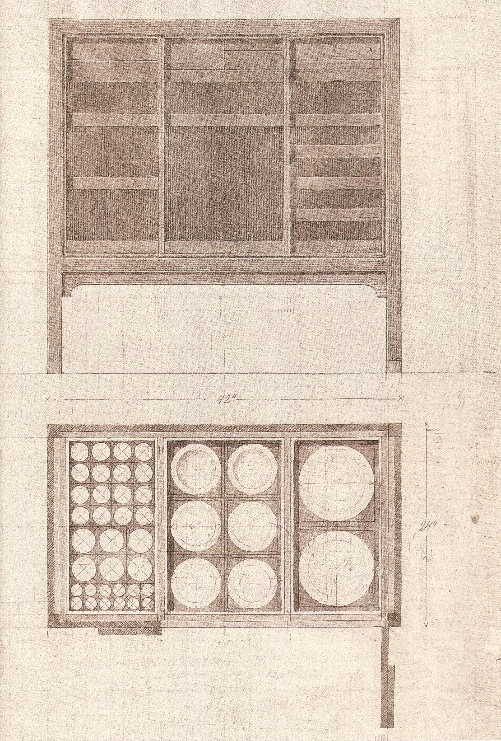 Cabinet for china by Kaare Klint 1928
