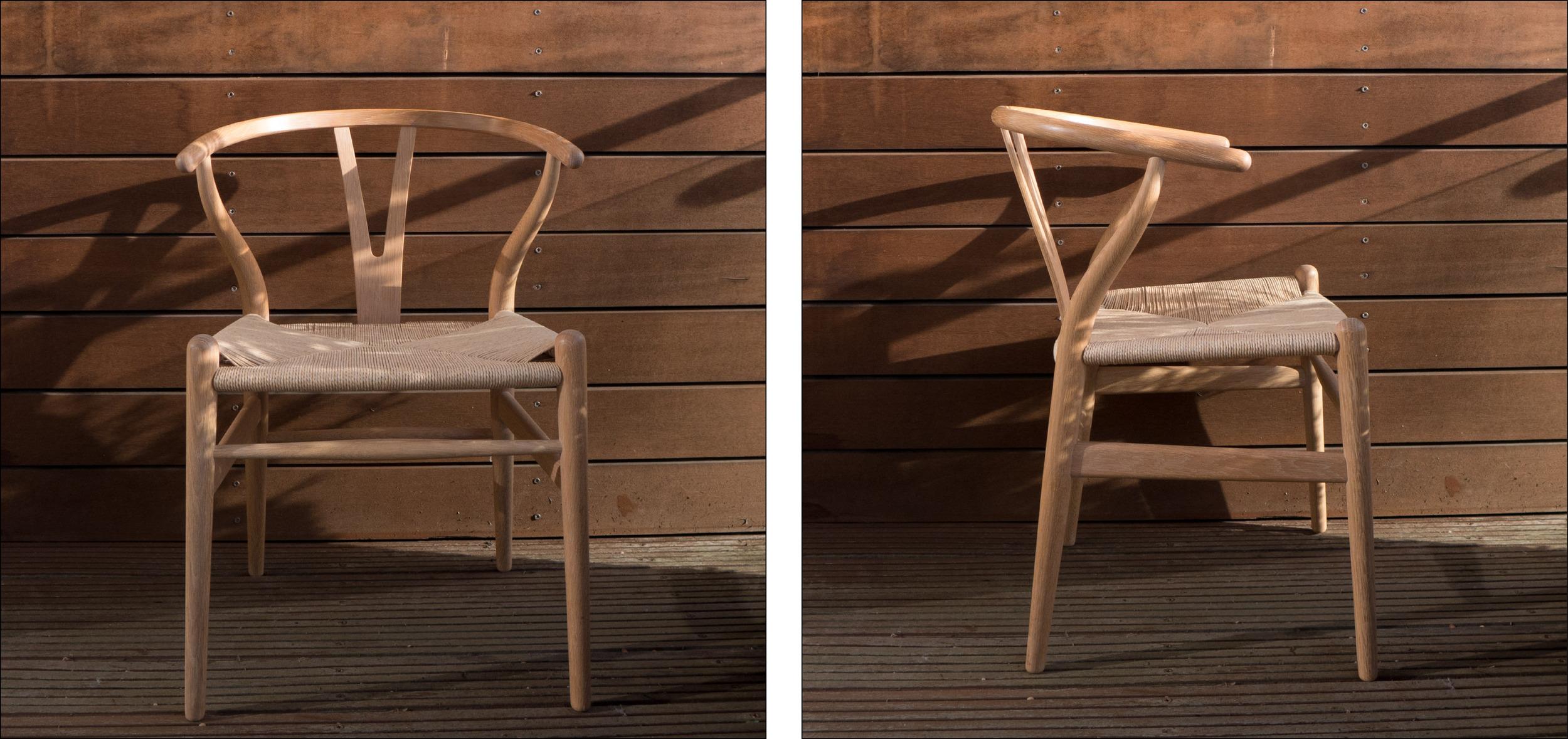 "The ""Wishbone"" Chair by Hans Wegner"
