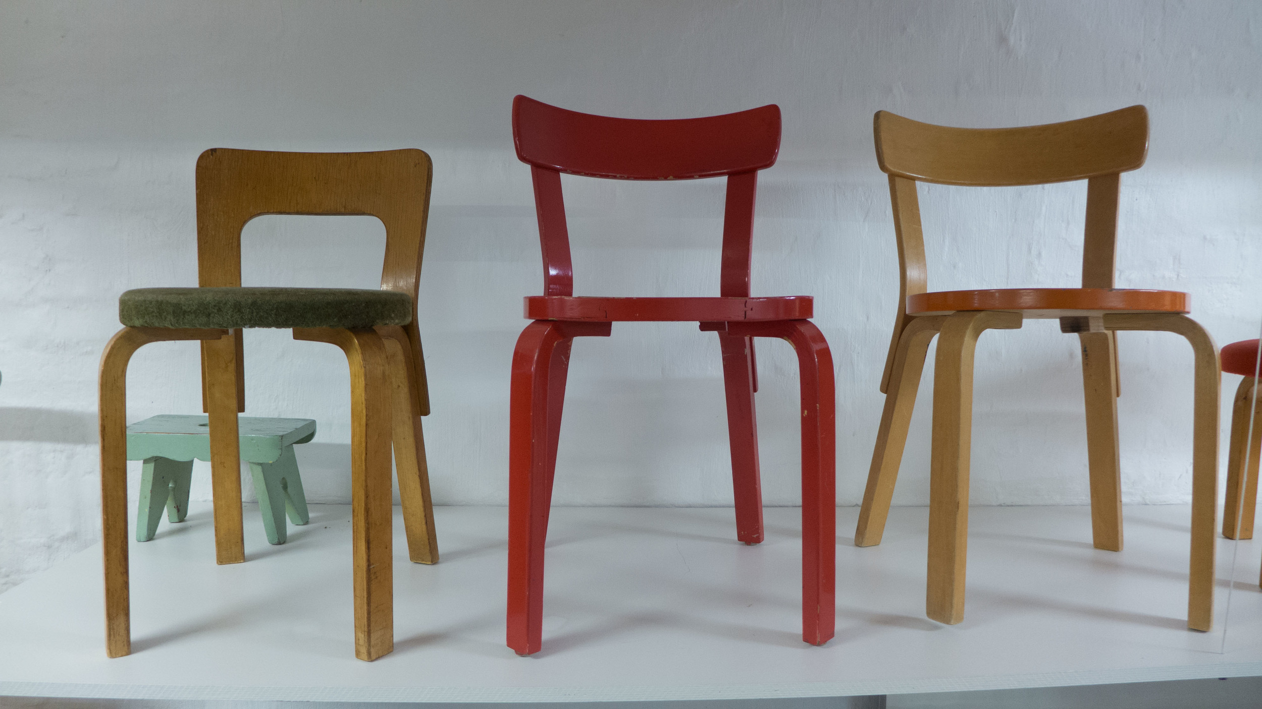 Early chairs from Artek at 2nd Cycle