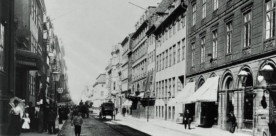 Bredgade in Copenhagen early in the 20th century