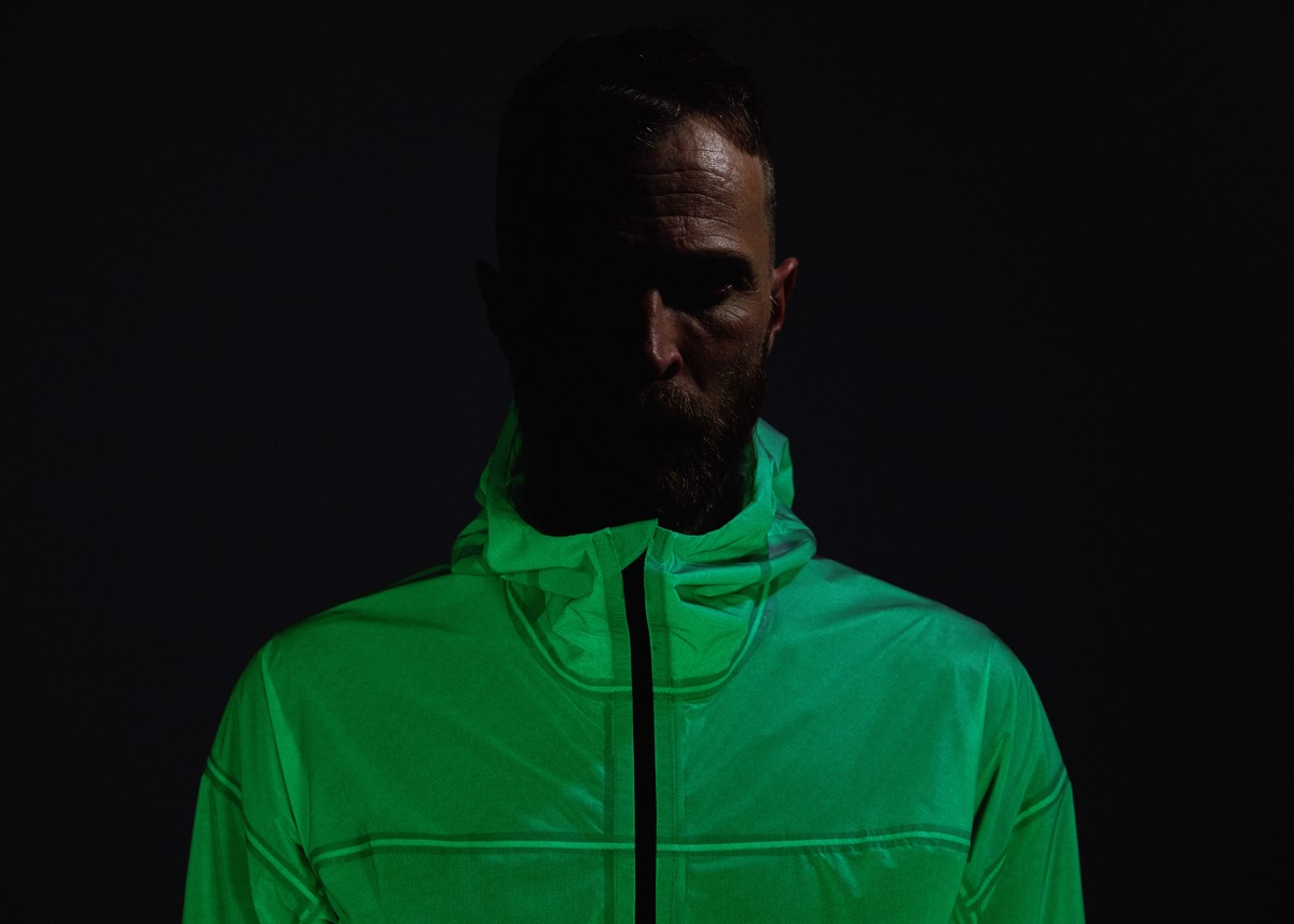 - Solar Charged Jacket during nighttime