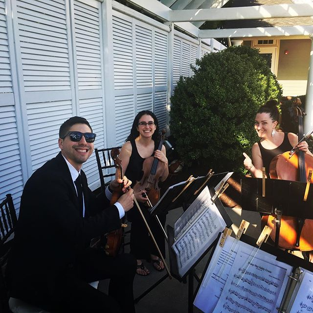 First wedding in June! #stringquartet #marylandweddings #tworiverschambermusic