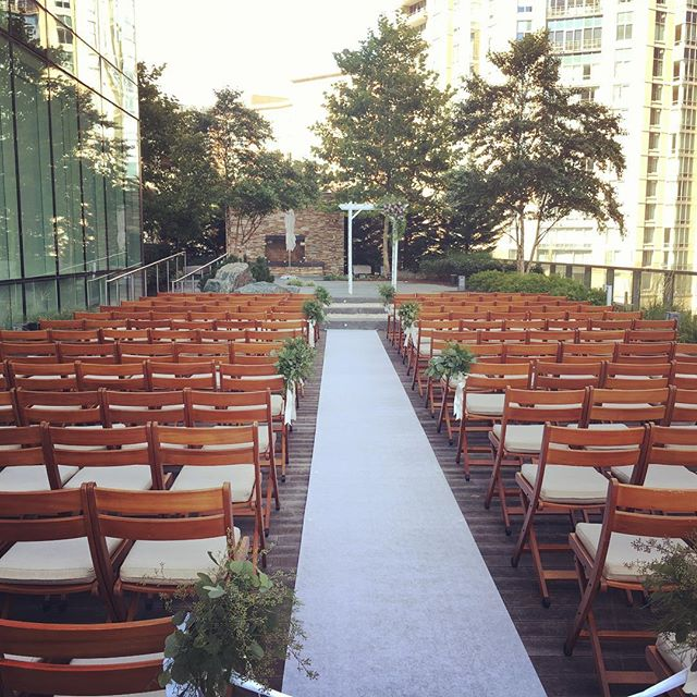 Beautiful ceremony at the Four Seasons in Baltimore! #baltimoreweddings #marylandweddings #fourseasonsbaltimore #tworiverschambermusic
