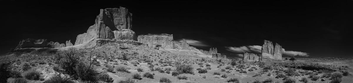 Arches National Park, 180º