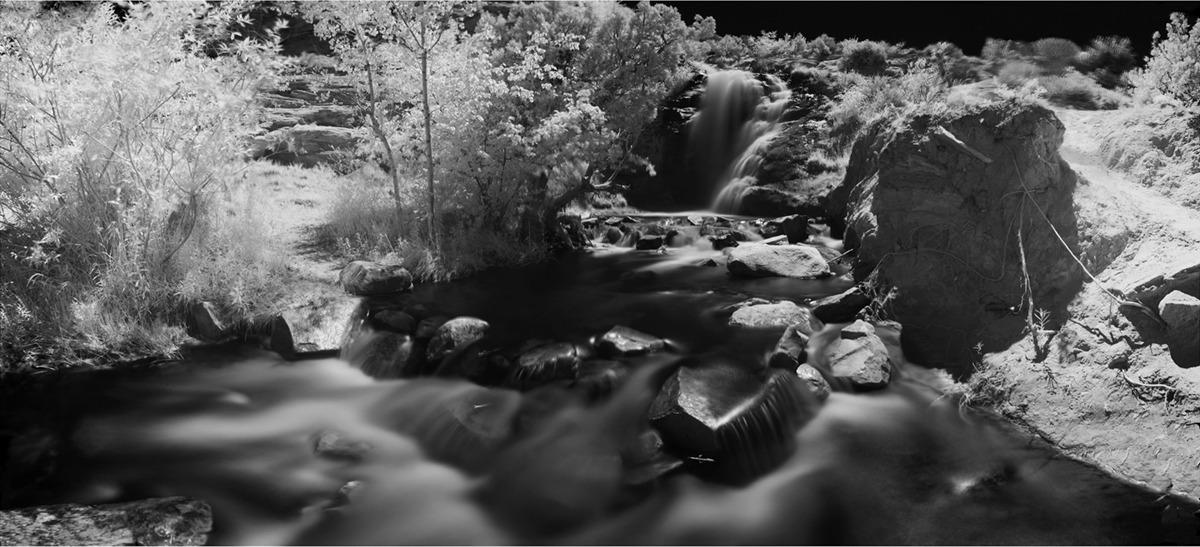 Faux Falls, 190º