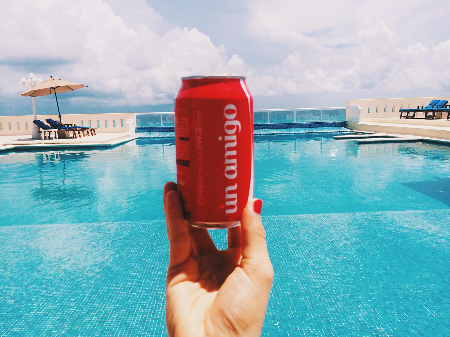 Coca Cola at Casa Turquesa