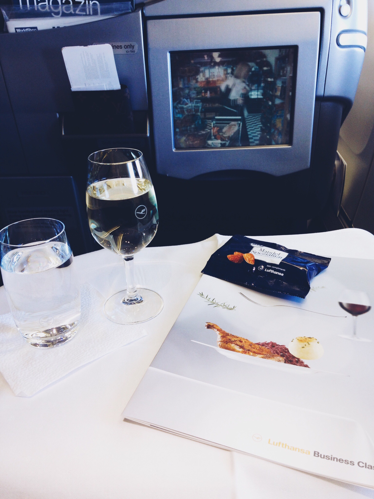 Lufthansa Holiday Wine Selection