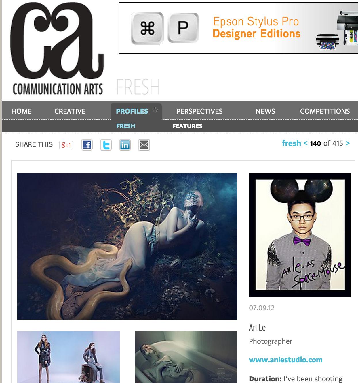 An Le Photographer - Stylist Perri Rothenberg