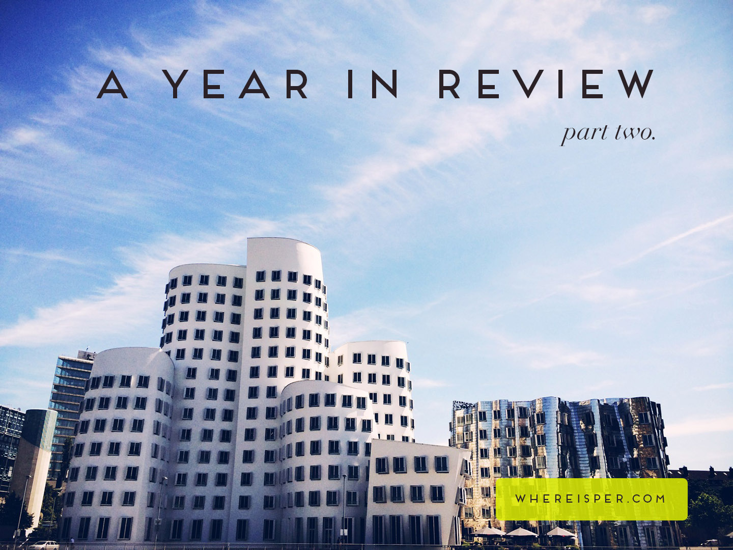 A Year In Review Where is Per