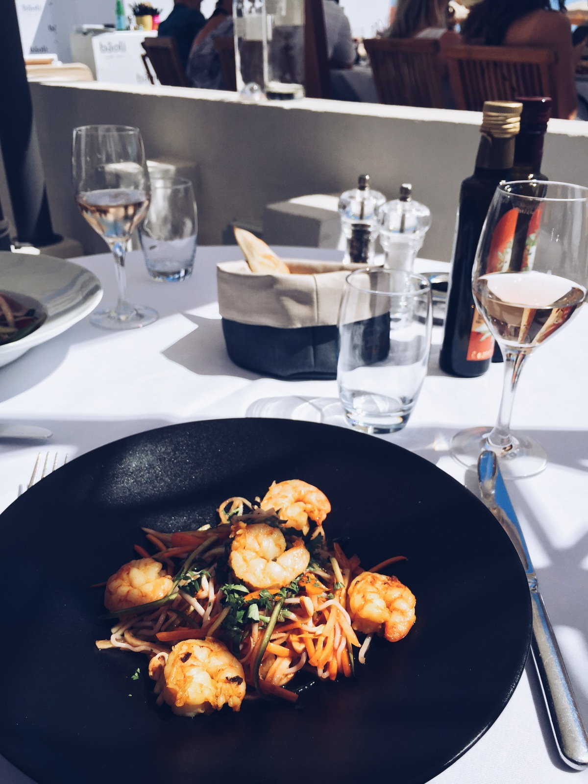Shrimp at Baoli Beach Cannes